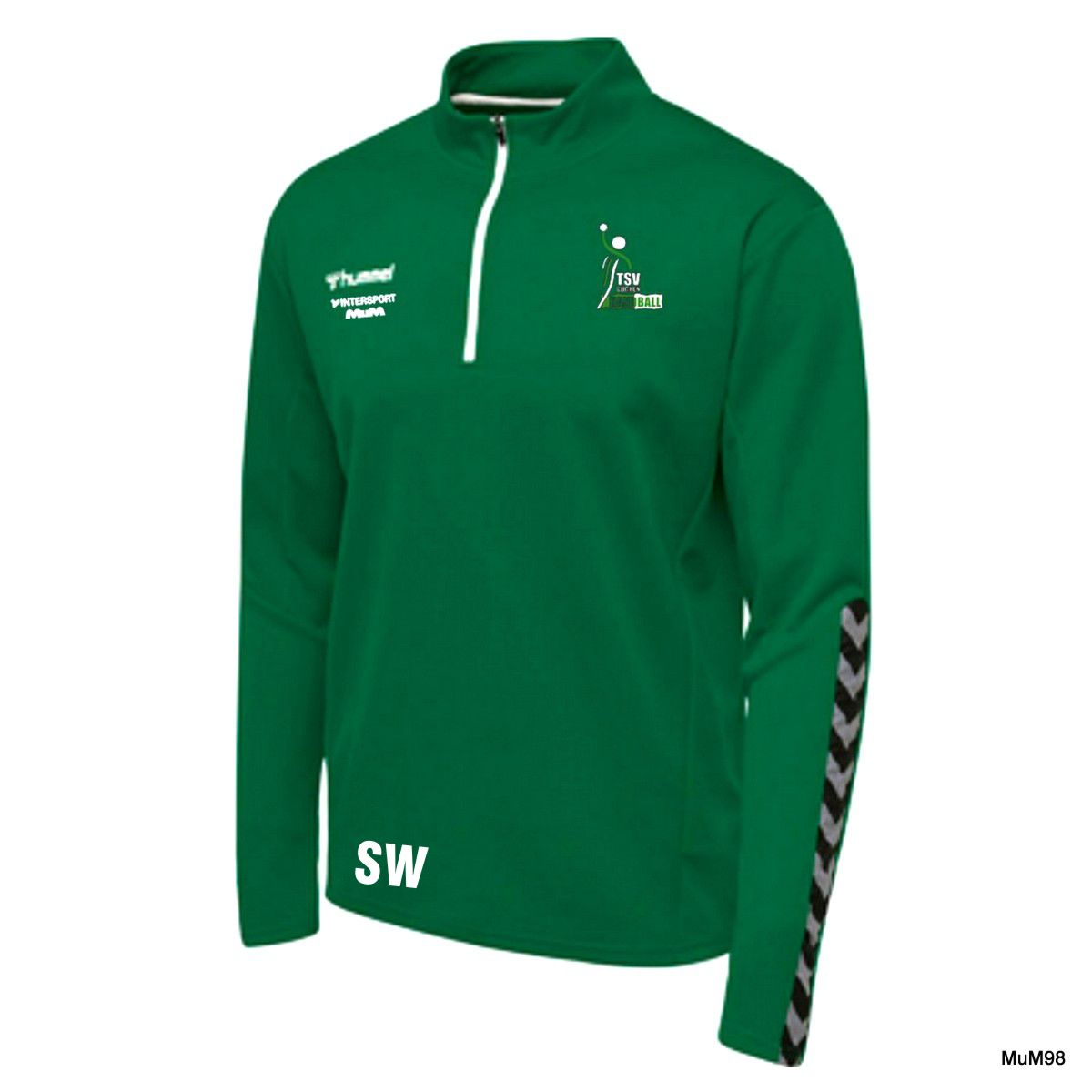 TSV Buchen DAMEN Half Zip Sweatshirt Hummel