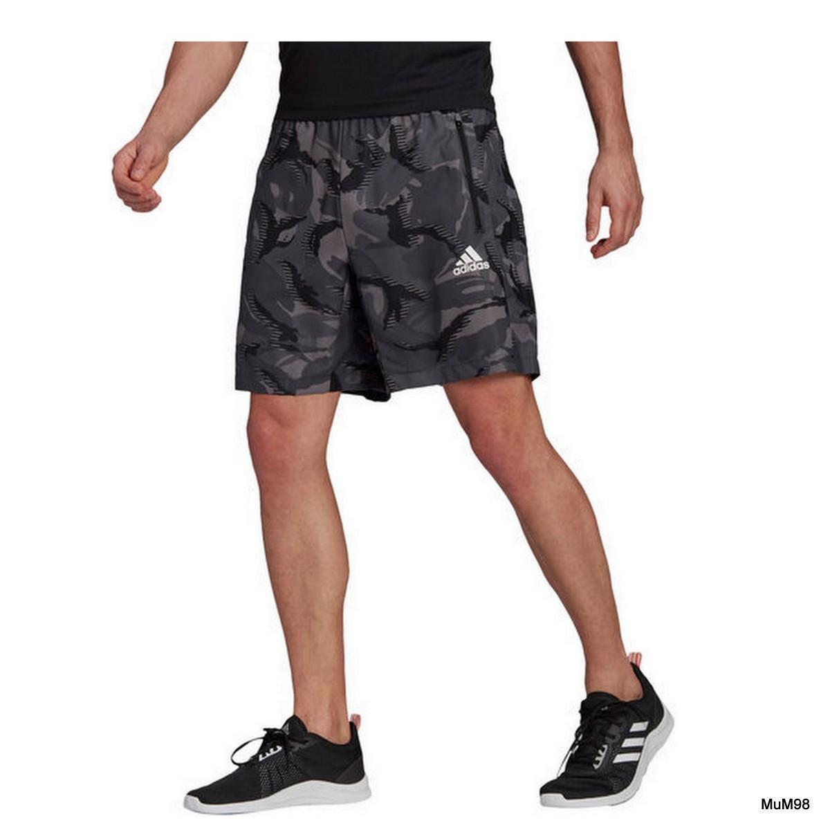 Adidas Camouflage Aeroready Shorts Herren