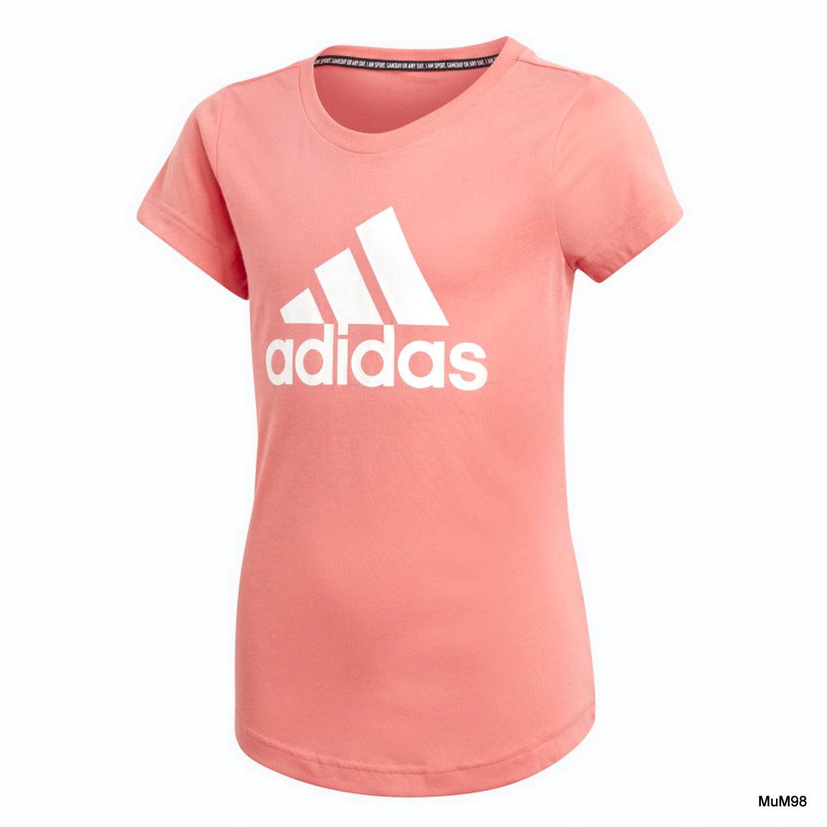 Adidas Mädchen JG MH BOS TEE