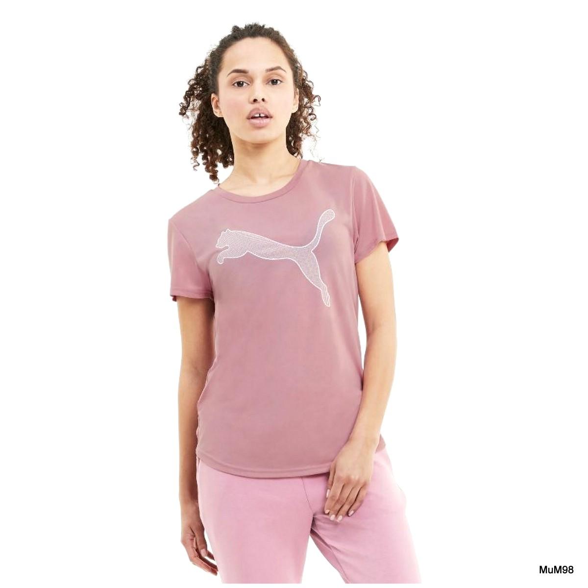 Evostripe Damen Kurzarm-Shirt