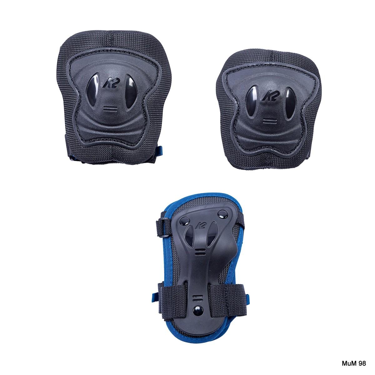 K2 Raider Pro Pad Set blue