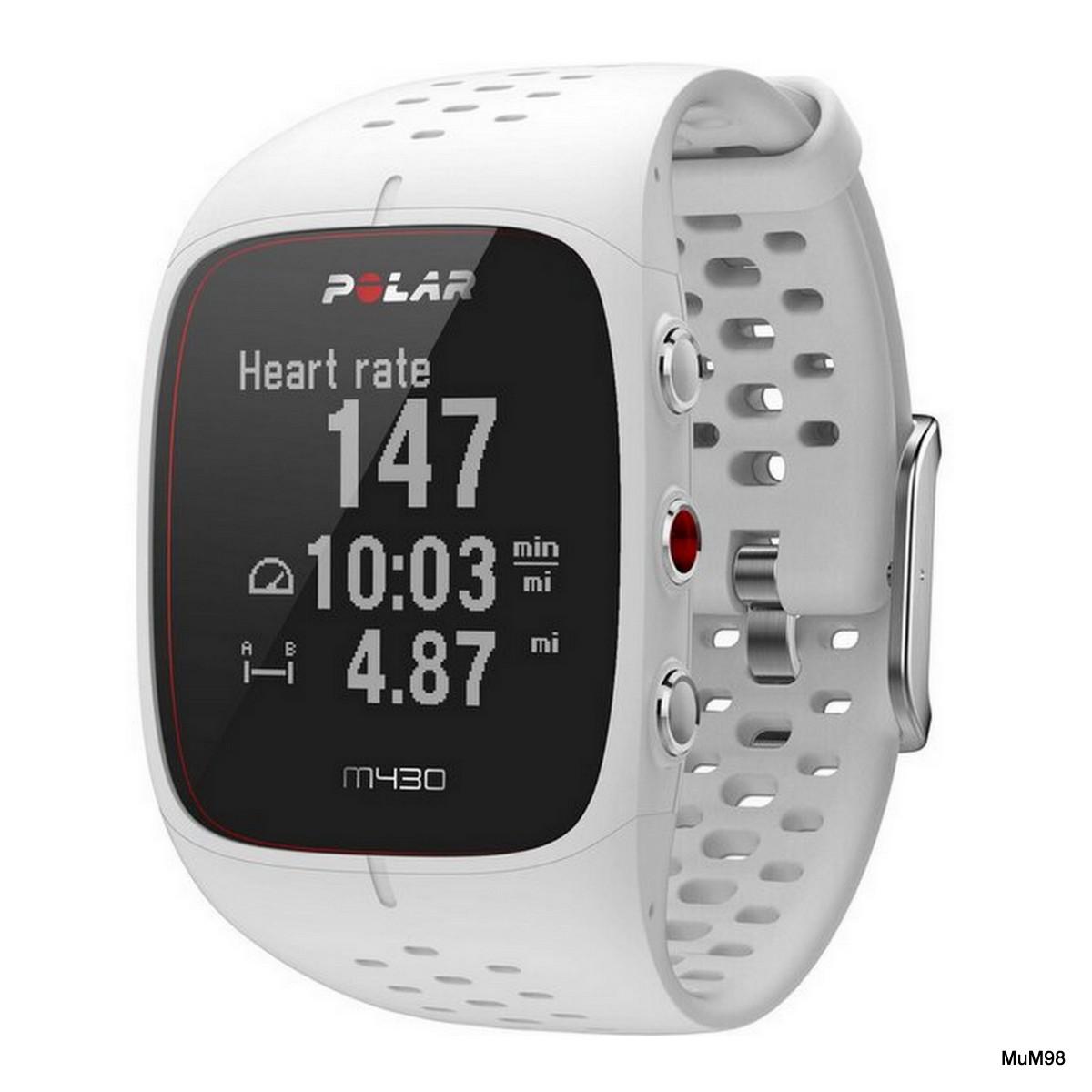 """POLAR GPS- Laufuhr """"M430"""" mit Herzfrequenzmessung"""